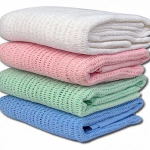100% Cotton Cellular Blanket - quick-cleaning-supplies