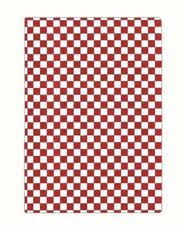 100% Cotton Check Design Chefs Kitchen Towel - Pack of 6 - quick-cleaning-supplies