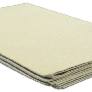 100% Cotton Twill Weave Dust Sheet - Size 121cm x 190cm - quick-cleaning-supplies