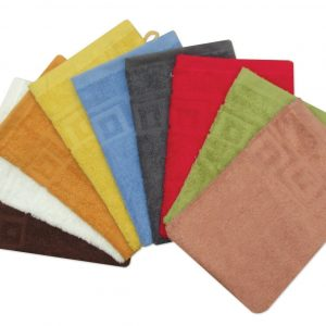 100% Cotton Wash Mitts Face Cloth Glove - Pack of 2 - quick-cleaning-supplies
