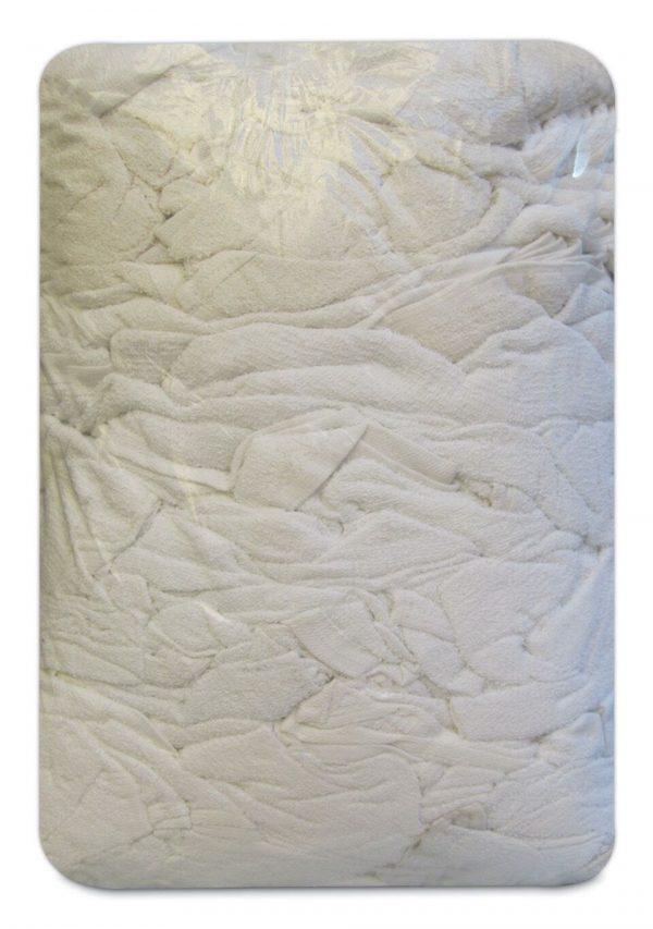 10KG White Terry Towel Cut Wiping Cloth Mechanic Polishing Bodyshop - quick-cleaning-supplies