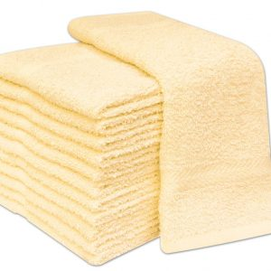 100% Cotton Face Cloths - Pack of 12 - quick-cleaning-supplies